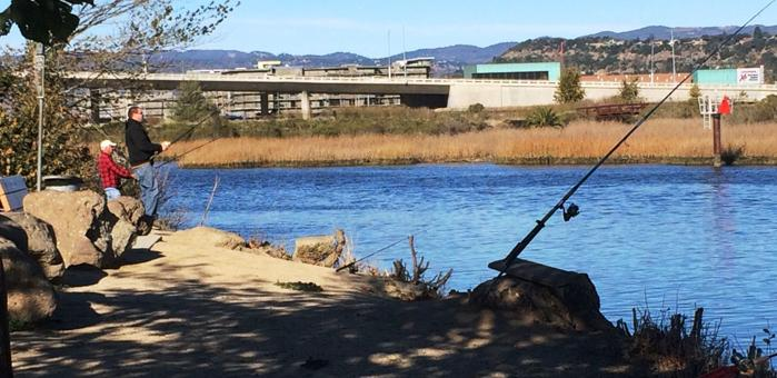 napa river fishing