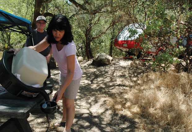 Bothe state park still busy despite threatened closure for Bothe napa cabine