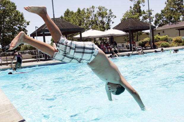 Public Pools Host Families Looking To Cool Off