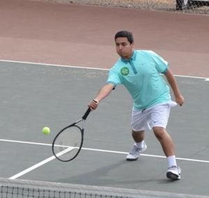Tennis team bounces by Anderson Valley
