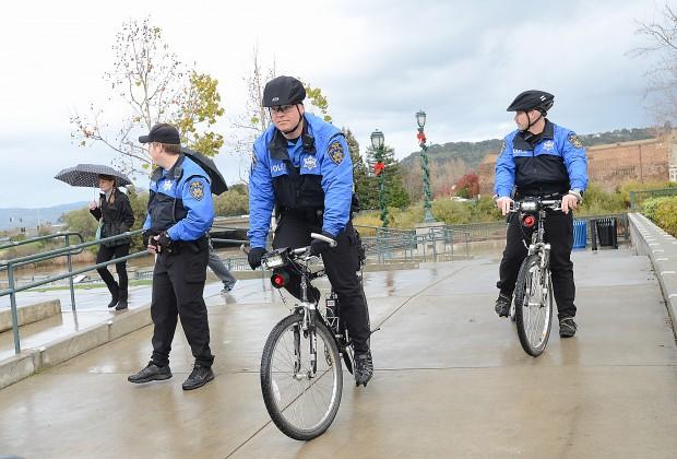 Napa Unidade de Polícia Bicicleta