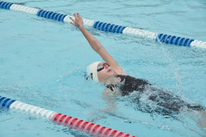 Youth Swimming: WCAN's Aitken competes in Rohnert Park