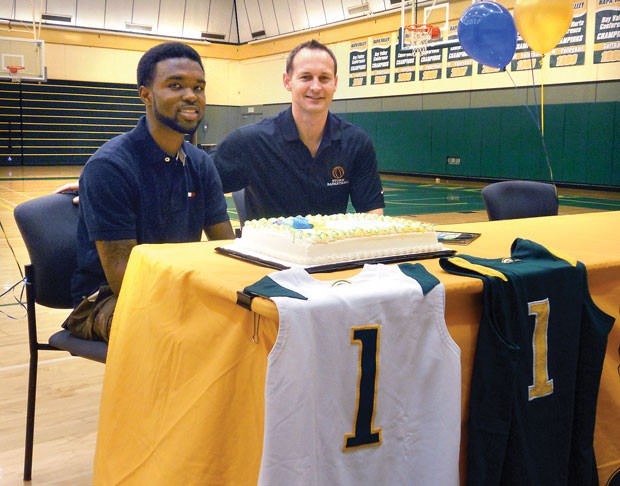 Napa valley college hoops standout cole signs with cal for Aroma indian cuisine napa
