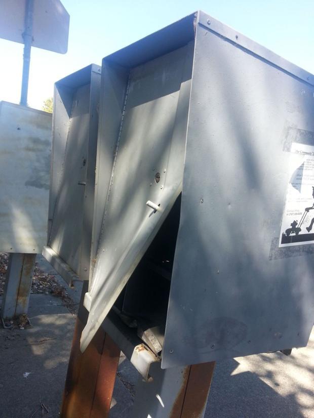 vandalized mailbox bank Danrose Drive American Canyon