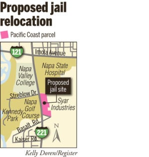 Napa approves water for new county jail