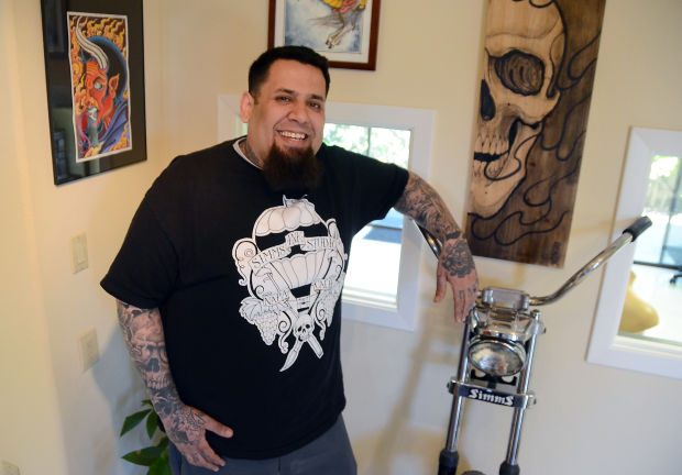 Simms ink lets its tattoos do the talking business for Ben corn tattoo