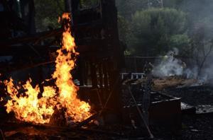 Fire destroys Deer Park home