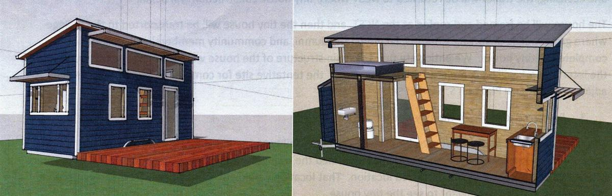 Colleges tiny house project moving forward News ncnewsonlinecom