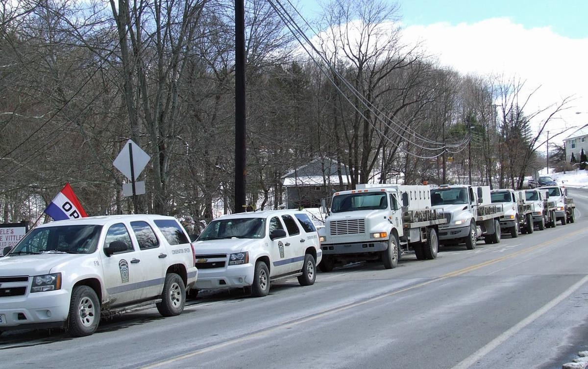 Crowds hit volant for trout pancakes news for Pennsylvania fish commission