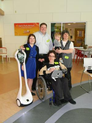 Cris Colaluca at Children's Hospital