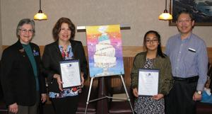 Glasgow Lions Club honors peace poster contest winner