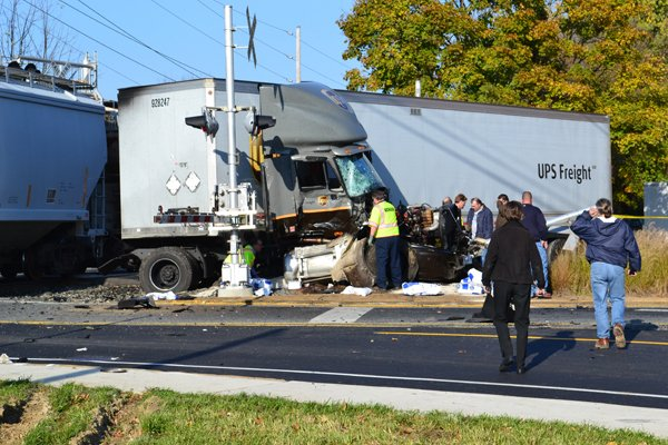 UPS driver hit by train in 'good condition' | News ...