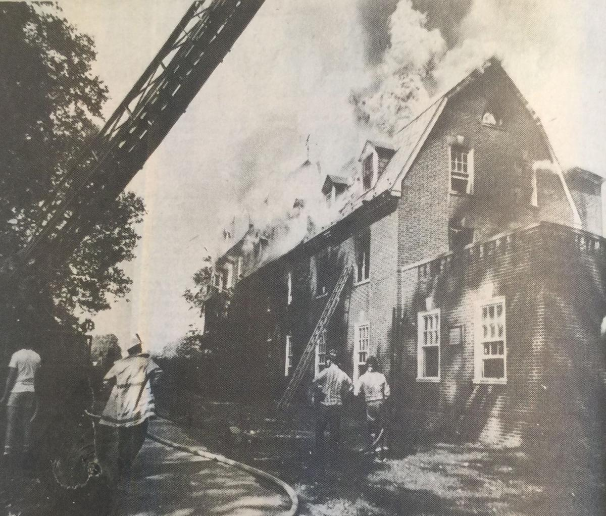 Out of the attic sigma nu fraternity house fire 1977 for Facts about house fires