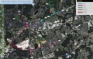 Proposed route designations
