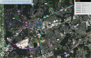 Current route designations