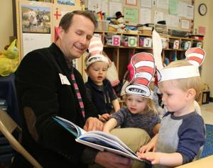 UD Early Learning Center celebrates Dr. Seuss' birthday