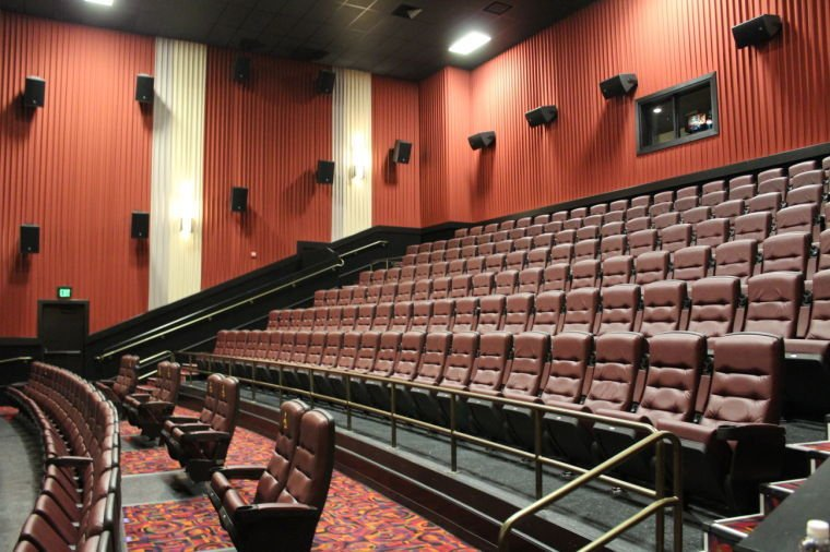 All of the Cinemark Christiana theaters feature plush seating like the ...