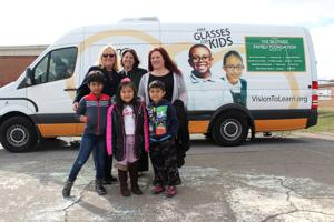 Eye care van gives local students the gift of sight