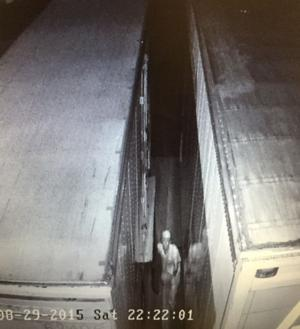 <p>Police are seeking the public's help in identifying this man who they believe stole two fiberglass tractor trailer loading ramps Saturday night from American Van Lines.</p>