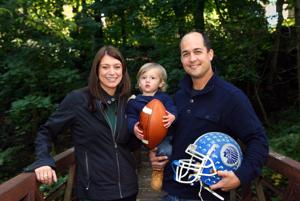 B'ville couple raising funds with touch football event