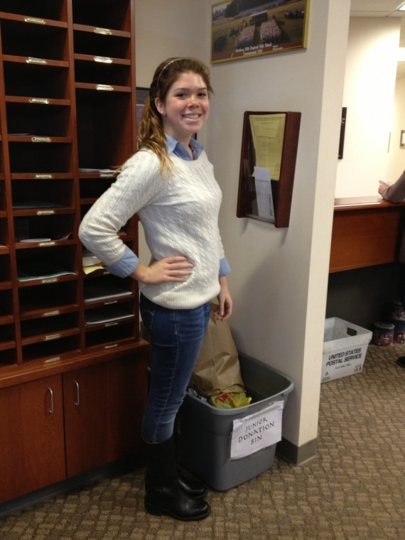 All Student Council Vice president Lindsay Wagner