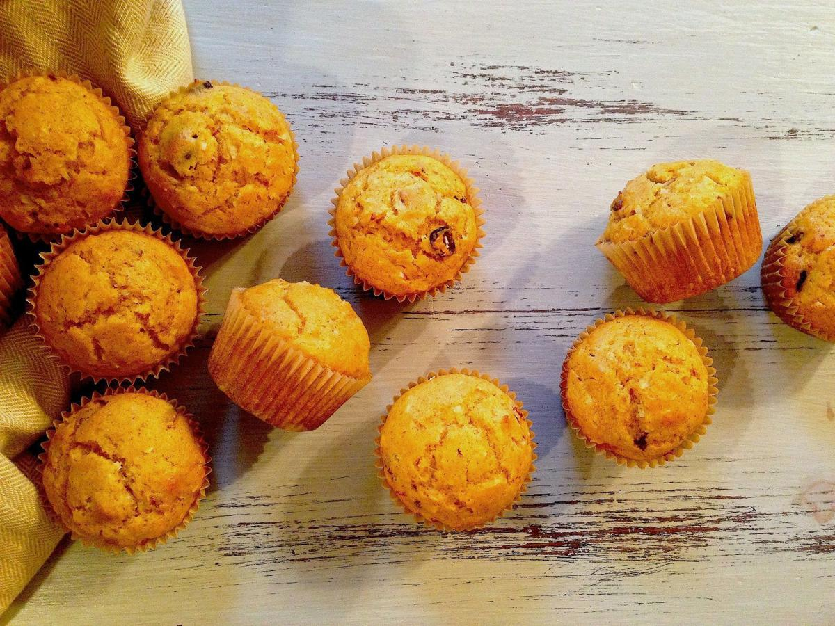 FRESH OFF THE FARM: Sweet Potato Muffins by Claire Nines