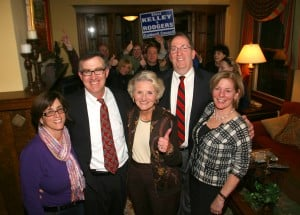 Caldwell Democrats all smiles