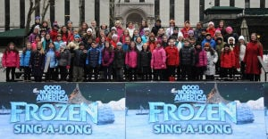 Liberty Corner 5th-graders perform in Bryant Park