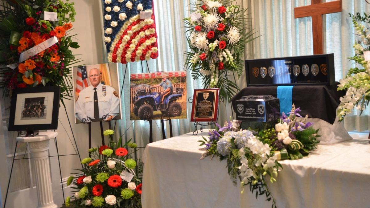 Services begin for Chief Craig Meyer of Bedminster