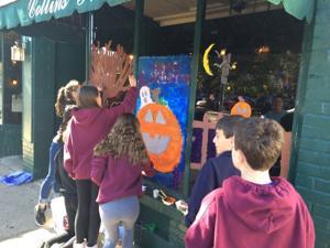Window Pumpkin Painting