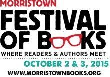 Morristown Festival of Books Author Schedule Oct. 2-3