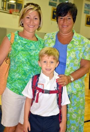 Three Generations At St. Vincent's School