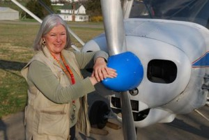 Califon's renaissance woman takes to the skies