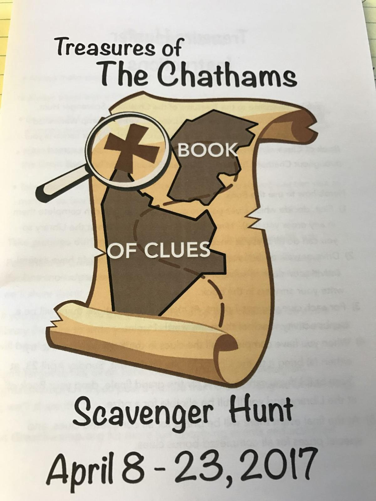 'Treasures of the Chathams Scavenger Hunt'