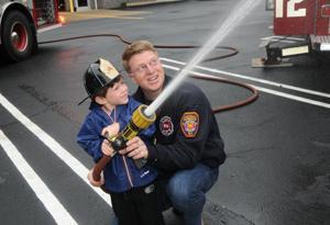 Handling A Fire Hose