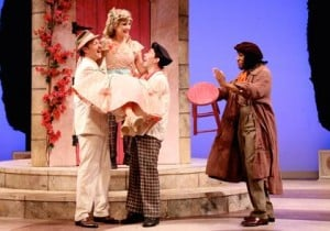 'Taming of the Shrew' is fast-paced, often very funny