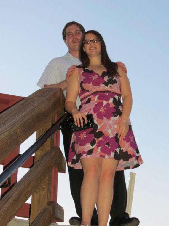 Joseph Shust and Alissa Bunty