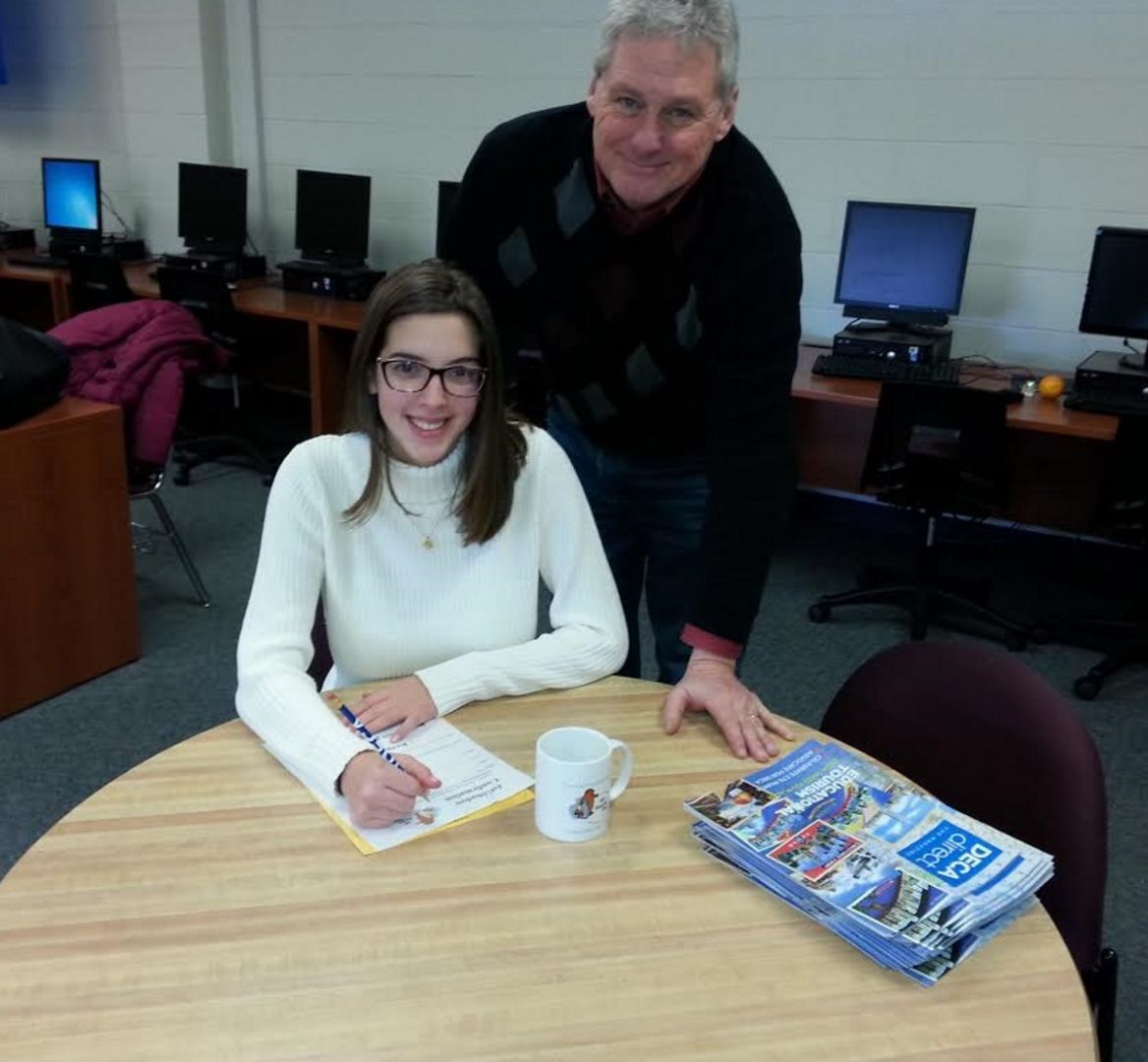 mount olive students see the real deal in shadow program mount emma tomas a senior at mount olive high school is the student organizer of the job shadow program timothy kelly is the faculty advisor for the program