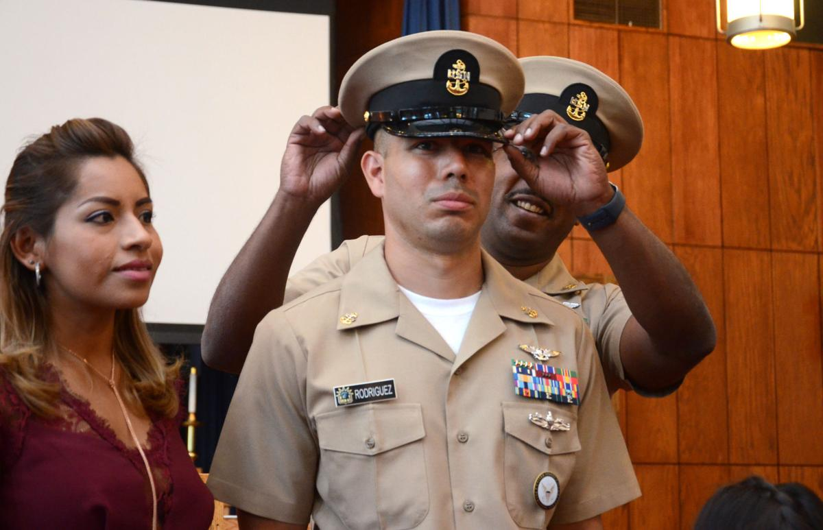 Naval officer promoted