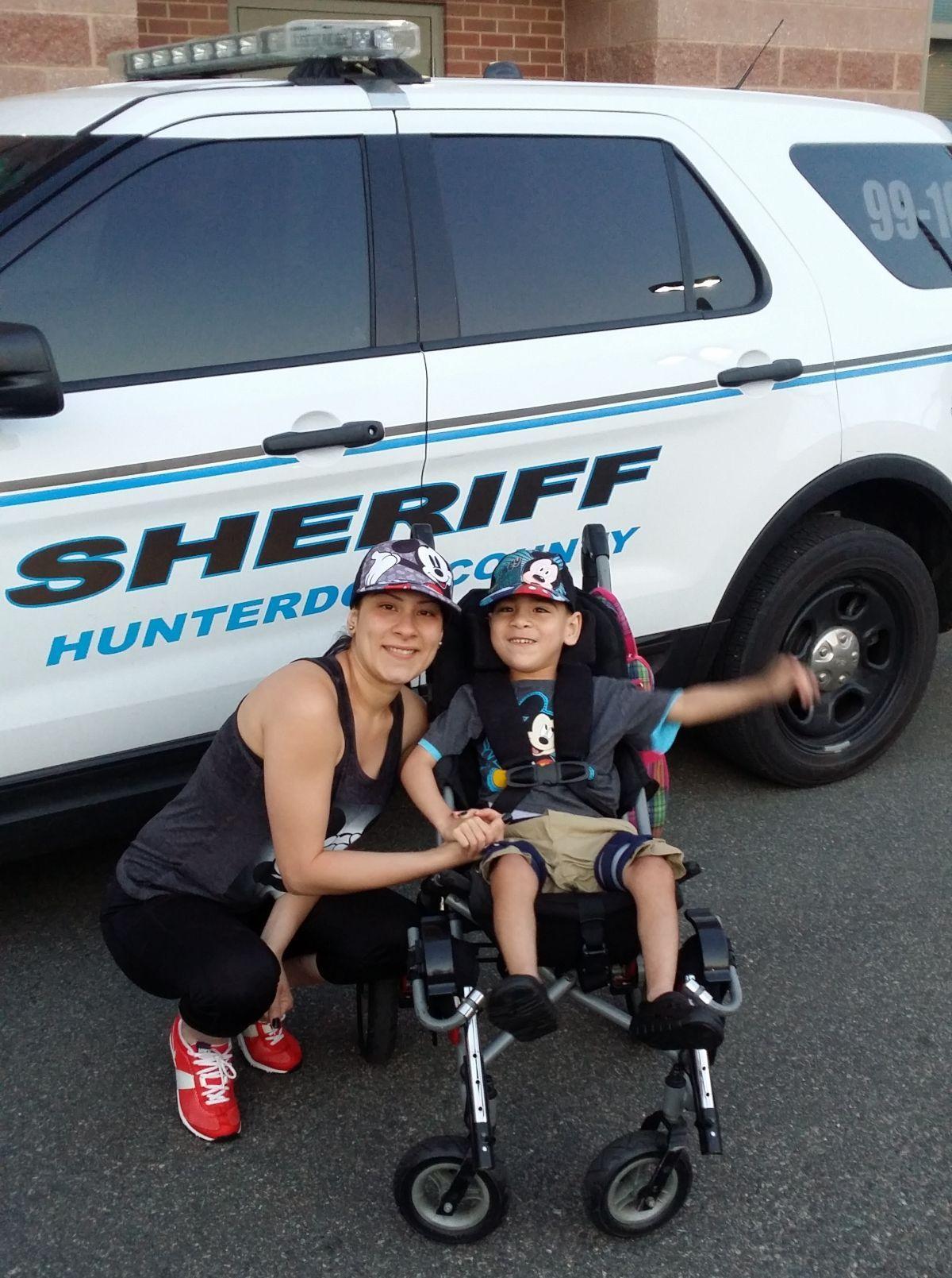 Sheriff's office sends High Bridge boy to Disney World