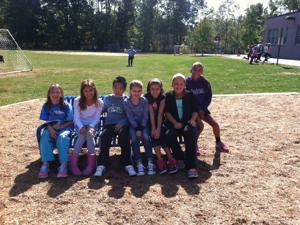 Students find friends on 'Buddy Bench'