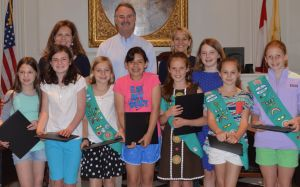 Highest Honor for Junior Girl Scouts