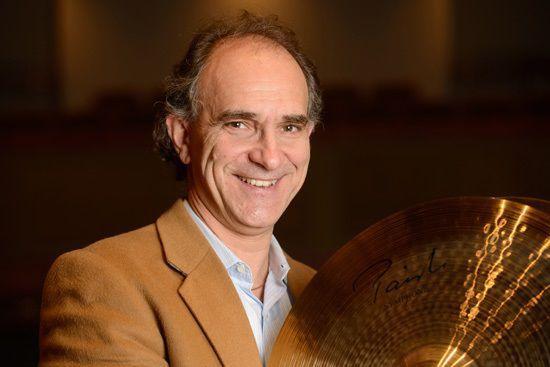 Percussionist James Musto