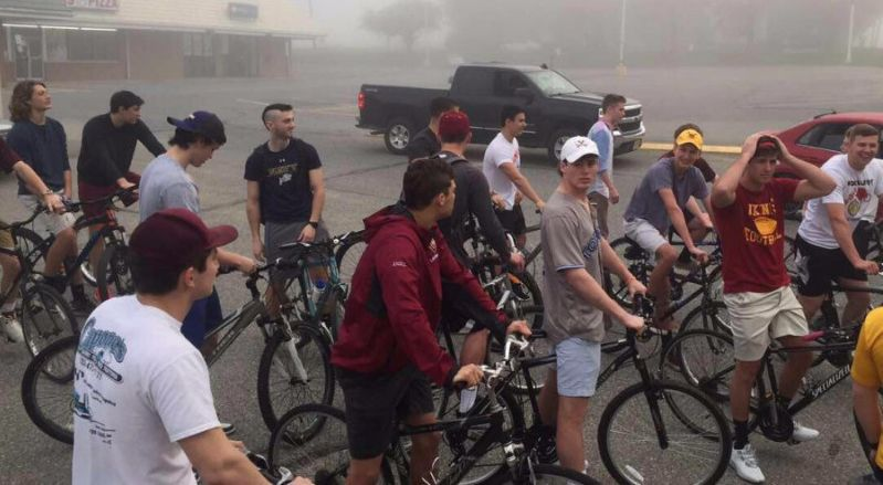 Voorhees High students on bikes jam Route 513, face detention, court, fines
