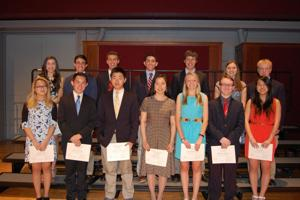 Pingry Students Honored