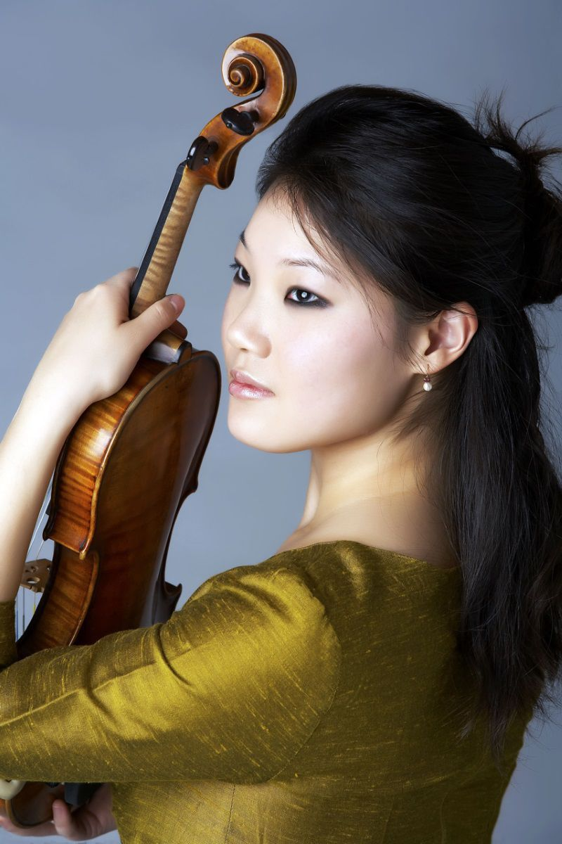 Violinist Rachel Lee Priday