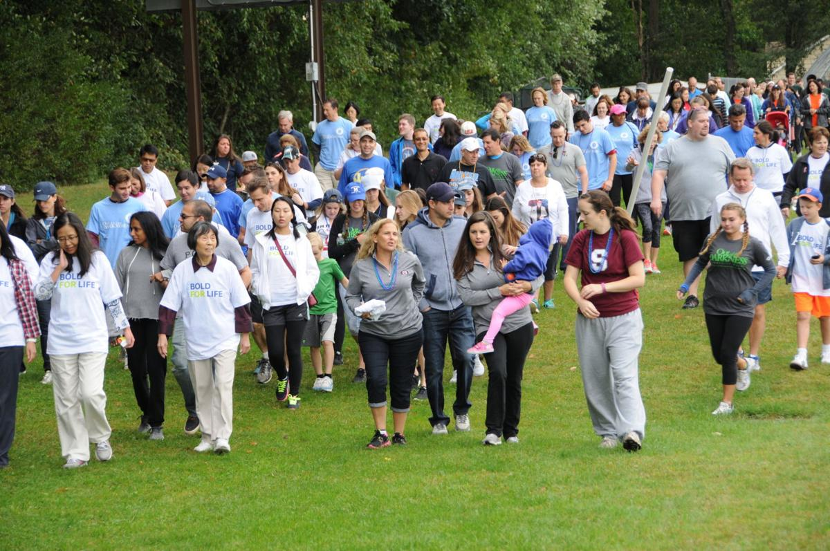 Chatham Township walkers bring suicide into the spotlight