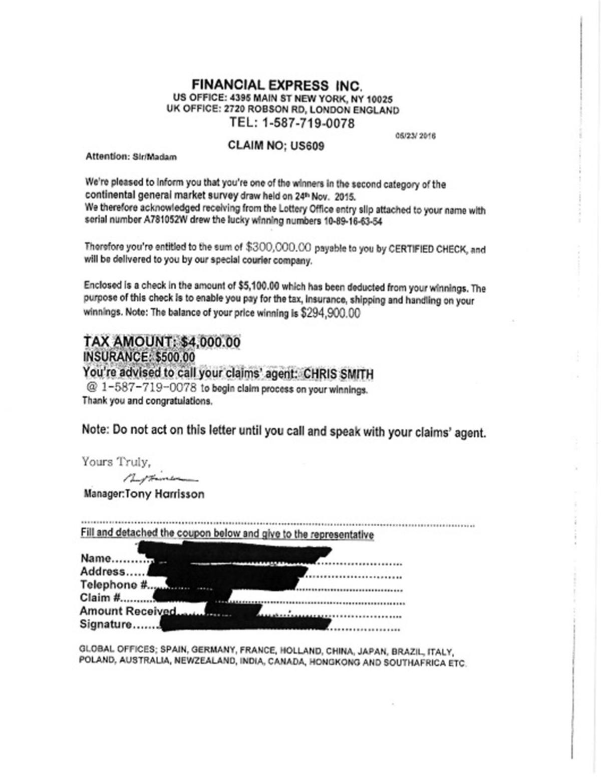 Police Warn Residents About Scams The Progress News
