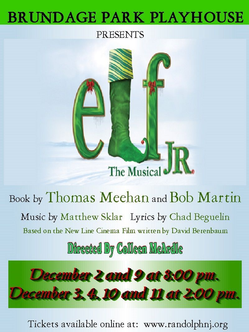 'Elf The Musical Jr.'