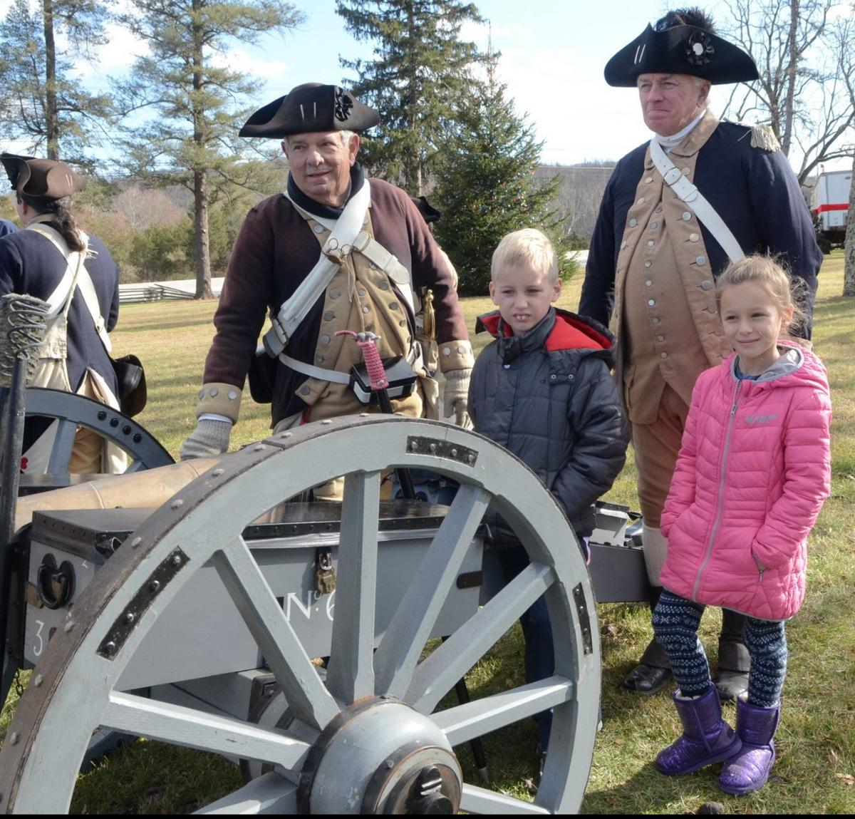 Jacobus Vanderveer House and Museum Colonial Christmas 2016